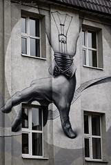 Street art (Lyutik966) Tags: flacon streetart building wall window drawing arm lamp moscow creation artofimages