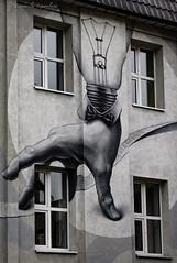 Street art (Lyutik966) Tags: flacon streetart building wall window drawing arm lamp moscow creation