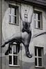Street art (Lyutik966) Tags: flacon streetart building wall window drawing arm lamp moscow creation artofimages