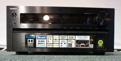 Onkyo Ultra HD AV-Receiver TX-NR3030 w/ Bluetooth ($448.00)