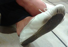 Gigi (707) (Duke of Slippers) Tags: ballet slippers flats shoes fetish balletslippers balet balerina shoe soft leather sole essence art arch dance dancer tanec cvicky cvičky baletky ballerinas ballerina