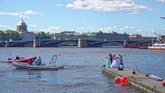 Saint Petersburg 11 (mpetr1960) Tags: saint petersburg russia wedding people river man woman ship boat sony