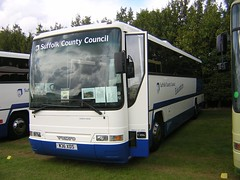 Suffolk County Council W36 XDS (quicksilver coaches) Tags: volvo b7r plaxton prima suffolk countycouncil w36xds showbus duxford