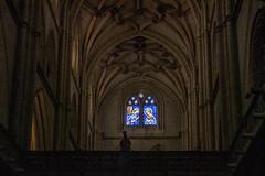 Catedral de Palencia, vidriera de la fachada occidental (ipomar47) Tags: arquitectura architecture catedral cathedral basilica san antolin catedraldepalencia catedraldesanantolin belladesconocida gotico gothic palencia espaa spain pentax k20d