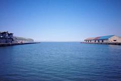 Port (Gai) Tags:    otaru hokkaido japan   summer water   ocean sea  warehouse     blue sky