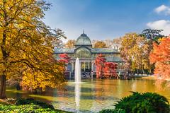 Parque del Retiro y Plaza Mayor (Talan Burriel) Tags: otoo madrid espaa retiro plazamayor relaxingcup autumn paisaje landscape