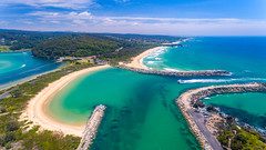 Bar South Narooma (Andy Hutchinson) Tags: australia narooma dji drone aerial phantom4 eurobodalla nsw newsouthwales au