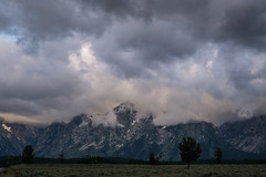Head in The Clouds, Part 4 (JeffMoreau) Tags: grand teton national park head clouds tetons wyoming cloudy dawn color prairie sony a77ii tokina