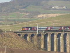 43300 crosses Lesbury Viaduct (5/12/16) (*ECMLexpress*) Tags: virgin trains east coast hst intercity 125 43300 43310 alnmouth for alnwick ecml