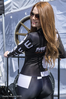 Japfest 2015 - Method Race Wheels promo girl