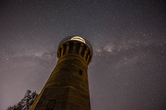 Milky Way over Barrenjoey Lighthouse, Barrenjoey Head, Palm Beach, New South Wales, Australia (Strabanephotos) Tags: new lighthouse beach wales night way stars head south over australia palm nsw milky barrenjoey