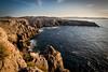Golden hour in Furnells, Menorca (dommmmh89) Tags: sunset wild canon landscape coast spain rocks magic lonely menorca goldenhour baleares furnells