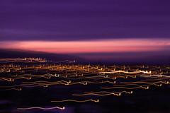 Speed. (Maka Ekadasi) Tags: sunset speed canon landscape twilight exposure sound t5 blury
