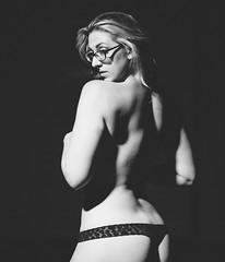 Karley photo shoot (www.DarrellCraigHarris.com) Tags: portrait bw woman white black sexy beauty canon nude eos prime dancer dslr implied alexportrait anamazingshot flickraward