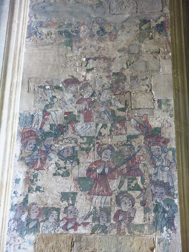 Wall painting, Milcombe chapel