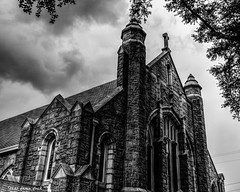 St. Paul's Lutheran Church In Columbia, SC (that_damn_duck) Tags: hdrpro gothicchurch historicalchurches sc downtowncolumbiasc southcarolina history nikon
