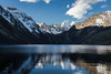 Laguna Jurikhota reflections (__Alex___) Tags: travel blue lagune mountain mountains nature water clouds sunrise trekking trek canon landscapes view wide bolivia calm 5d laguna nuages paysage paysages montagnes bolivie 1635 landscpe 1635mm lignt jurikhota