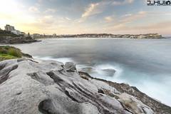 IMG_0969 (Joseph Hui (J_HUI)) Tags: ocean longexposure people cloud sun beach water bondi canon landscape sand rocks sydney 1740 6d tamarama jhui