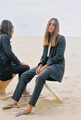 Mint & Rose AW15 Campaign (Iciar J. Carrasco) Tags: autumn winter girls color film beach nature analog 35mm grey spain sand desert natural atmosphere cadiz campaign atmospheric filmisnotdead aw15 mintrose iciarjcarrasco