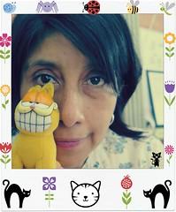 Mi idolo (MaPeV) Tags: cats canon chats chat tabby kitty gatos powershot gato kawaii neko katze garfield gatti felin gattoni gattini g16 mapev tabbyspoted
