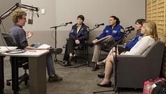 NPR Space Discussion  (NHQ201509150041) (NASA HQ PHOTO) Tags: dc washington stem astronaut nasa npr cadycoleman adamcole ellenstofan samanthacristoforetti serenaaun joelkowsky