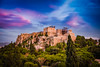 Robert Emmerich - 60 HDR - The Acropolis during sunset from the Areopagus in Athens -  Greece (Robert Emmerich Photography) Tags: travel sunset panorama robert photoshop canon landscape photography eos kreta athens re dslr acropolis hdr nle chania 2014 grichenland emmerich landscapephotography areopagus photomatix hdrphotography 40d europeanphotography hdrphotographers hdrtheworld robertemmerich stuckinathens