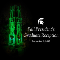 Photo representing President's Graduate Reception, Fall 2015