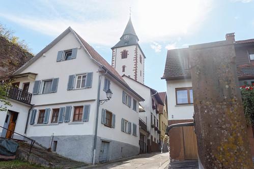 """La """"Liebfrauenkirche"""" à Gernsbach"""