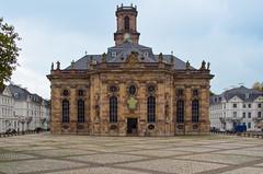 Ludwigskirche Saarbrcken (Yohtine) Tags: hans kirche ensemble joachim barock saarland saarbrcken ludwigskirche stengel
