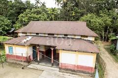 H502_2297 (bandashing) Tags: blue roof red england house tree green yellow manchester tin palm sylhet bangladesh bungalow socialdocumentary ancestral aoa bandashing akhtarowaisahmed
