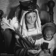 Plastic Mary & Jesus (hoobgoobliin) Tags: bw mary jesus lincolnshire plastic boywonder queenofheaven fujifilmxf1855mm fujifilmxe2