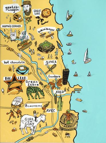 by Vidhya Nagarajan/ Chicago Food Map