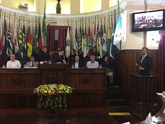 Discurso do vereador e presidente da Câmara Municipal de Niterói, Paulo Bagueira