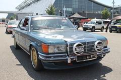 Mercedes 350 SE W 116 (1972) (Mc Steff) Tags: mercedes se w 350 1972 116 w116 retrorace2014