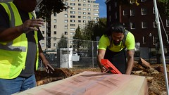 Marshallese Outrigger Canoe Build Project (Geographer Dave) Tags: 6 movie video oct psu portlandstateuniversity 2015 karkar tiemclements erickpedro outriggerpsu