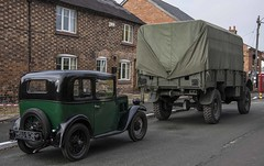 ITV's Home Fires Set - Bunbury (joanjbberry) Tags: television outdoors cheshire pentax worldwarii k3 pentaxk3 itvhomefires itvfilming