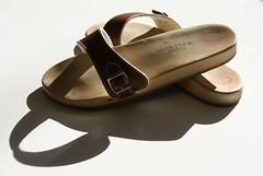 B100 (Reading between the lines) Tags: wooden shoes flat exercise sandals sandal sabots zuecos zoccoli b100 pantoletten berkemann