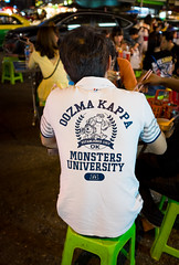 Monsters Uni (gary_p_p) Tags: bangkok streetphotography bangkokstreet
