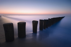 Cadzand-bad dusk (Dariusz Wieclawski) Tags: longexposure sea seascape zeiss seaside nikon availablelight lee slowshutterspeed cadzandbad leefilters zf2 nikond700 distagont3518 dutchseaside zeissflenseszf nikondslrcarlzeiss