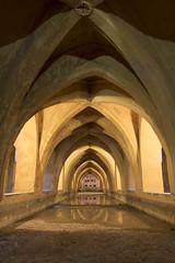 Vaulted baths, Alcazar, Seville. (miketonge) Tags: sevilla palace seville baths alcazar bathing vaulted mariadepadilla