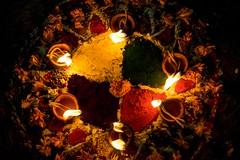 Mandala (tasbirholic) Tags: nepal festival lights colorful culture mandala hindu hinduism deepawali rangoli nepali tihar diyo