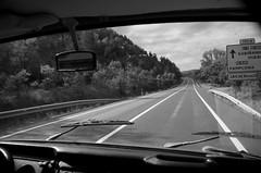 Y Daith - Roadtrip (Ger Taid) Tags: road mountain mountains vw montagne volkswagen bay blackwhite nationalpark spain pentax roadtrip espana aragon dslr camper pyrenees campervan t2 westfalia ln mynyddoedd midipyrenees mynydd ffordd duagwyn sbaen taith parccenedlaethol n330 parcnational k30