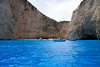 Zakynthos - Greece (LiveToday84) Tags: trip sea summer beach water boat holidays view crystal shipwreck zakynthos navagio d80
