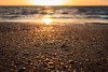 sunset at the beach (SvenHoenisch) Tags: sunset sea sun holland beach water netherlands strand landscape landscapes meer wasser europa europe sonnenuntergang northsea landschaft sonne nordsee ouddorp niederlande zuidholland southholland südholland