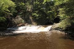 Falls of the Delaware Water Gap (Framemaker 2014) Tags: mountains water america river pennsylvania united gap national waterfalls area milford recreation states delaware pocono