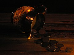 Pinching Copper's (Rand Luv'n Life) Tags: sea english wooden milk coins antique chest indoors copper pitcher ware lustre odc omposition
