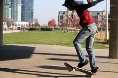 Skater #5 (emilyangel217) Tags: city canon rebel harbor shadows inner t3i