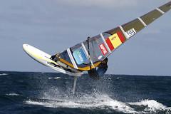 El windsurfista Movistar Iván Pastor