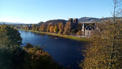 Visite d'Inverness, Écosse