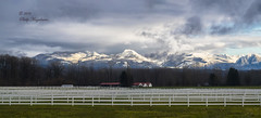 Cascades-and-Ranch-House (Philip Magallanes) Tags: mountains landscapes countryside cascades